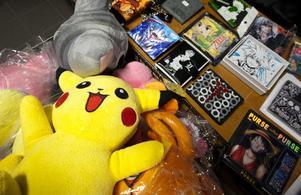Den gula Pikachu från Pokémon hör till de mer kända japanska animéfigurerna.