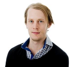 Johan Tollén, sportreporter på NA.