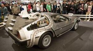 DeLoreans DMC-12 är kanske allra mest känd för sin medverkan i Tillbaka till framtiden-filmerna från 1980-talet.