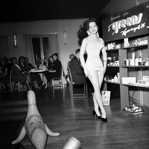 Den ena modevisningen avlöste den andra. Och fullsatt i lokalerna var det ofta.