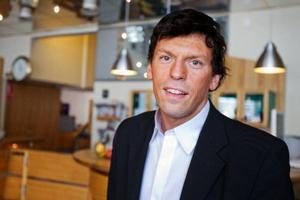"""""""Man blir lite nostalgisk när man kommer till Östersund"""", säger Stefan Karlsson som i dag driver hotell Lappland i Lycksele."""