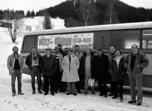 Håttgåbban Big band på turne med Ernie Englund och Gunnar