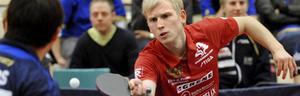 Johan Axelqvist närmar sig slutet på sin pingiskarriär.