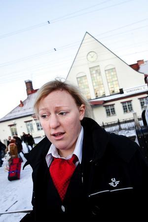 Madeleine Näslund har just jobbat klart, ett arbetspass hon helst vill glömma.