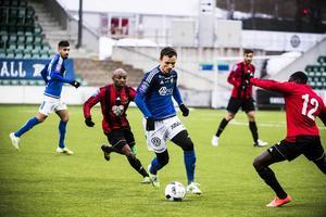 Shpetim Hasani har inte varit nöjd med speltiden han har fått i GIF Sundsvall den här säsongen.