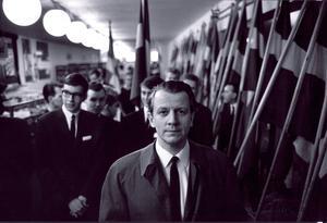 ARKIV 19850809. Valaffischerna inför 1985 års val har presenterats. Övre raden från vänster: Vänsterpartiet kommunisterna (VPK), Folkpartiet (FP), Centerpartiet (C). Nedre raden: Kristen Demokratisk Samling (KDS), Moderata samlingspartiet (M) och Socialdemokraterna (S).Foto Hans T Dahlskog / SCANPIX / Kod: 1003