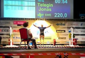 VM-brons till Jonas Telégin från Nora atletklubb.