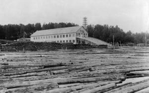 Sågen i Mariehill som på sin tid var Norrlands modernaste. Bilden från Utviksvägens Intresseförening.