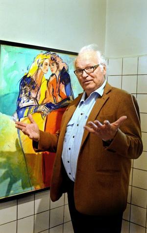 Bo Åke Adamsson har ställt ut på många gallerier runt om i Sverige och utomlands. Han är representerad i Gustav VI Adolfs och Carl XIV Gustafs samlingar, på Nationalmuseum i Stockholm och Sveriges riksdag bland annat. På lördag är det vernissage för hans utställning på Wahlmanska huset i Hedemora.