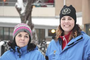 Kristina Bergh och Lina Schultz, prisas tillsammans med Salih Cetin för sina insatser vid explosionen på Nordost.