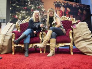 Johanna Hejdenberg och Sanna Wikström kommer att finnas i julstudion på nedervåningen i Nian.