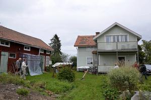 I veckan hölls en välbesökt villavisning av ett hus i Maj, Njurunda. 23 familjer och villaspekulanter var anmälda.