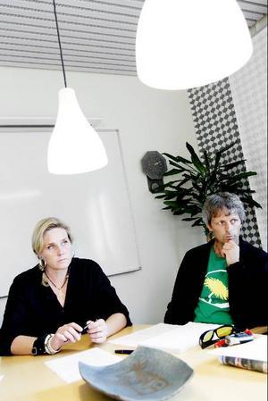AnneCatrine Hedman (KD) och Owen Laws (MP) säger, trots ideologiska skillnader, att de inte haft en enda konflikt under den gångna mandatperioden.