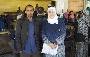 Yousif Mohamed och Maha Alhaddad.