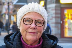 Ingrid Sundberg, 67 år, Östersund: – Nej, de tiderna är förbi. Man kan ändå inte hålla dem. De brukar spricka efter ett tag.