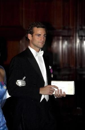 Jonas Bergström. Nu tar paret steget och Jonas blir prinsessan Madeleines fästman.