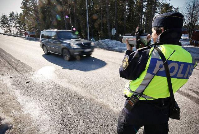 Har star polisen under paskhelgen