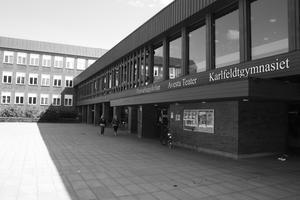 Fredrik Juthman, förvaltningschef på bildningsförvaltningen, tycker att det är frustrerande att Karlfeldtgymnasiet inte förbättrar sig i andelen elever som väljer att hoppa av.