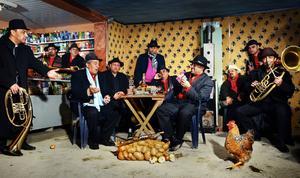 Fanfare Ciocãrlia är ett tolvmannaband med tonvikt på brassinstrument.