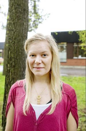 Tove Eriksson vann första pris i lyrikklassen.