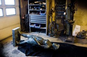 Maj ligger nu på ett garagegolv vid Granskär och väntar på att bli lagad.