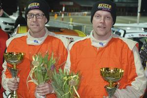 Tobias och Joakim Söderqvist inkasserade en ny seger i Trimmat tvåhjulsdrivet i Östersund Winter Rally. Leder SM efter två raka förstaplatser.