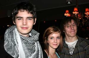 Klubb 34. Markus, Matilda och Robin