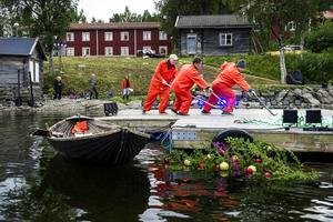 Ett fungerande arbetslag kunde utgöra skillnaden mellan liv och död för en flottare.