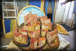 Den toscanska byn.