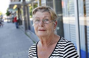 Edit Karlsson, 78 år, pensionär, Gävle:– Ja absolut. Folk cyklar på gångbanorna för jämnan, i alla fall här i Gävle. Och med alla uteserveringar på söder blir det särskilt svårt.