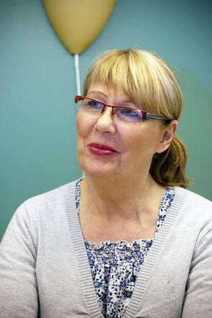 """Känt arbetsglädje. """"Vi har haft sådan arbetsglädje och varit en stark grupp. Det känns dystert och tråkigt att arbetsgruppen nu splittras"""", säger Siw Käll, tidigare distriktssköterska på Bomhus hälsocentral."""