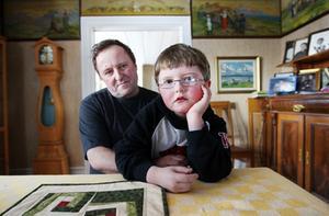 Lars-Erik Nilsson och sonen Petter
