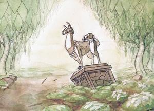 ... liksom Martin Arvidsson gärna varierar teman med raserade statyer på Ahlbergshallen.