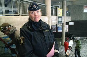 Eva Helin, närpolischef i Åre kommun, håller i utredningen om händelserna i Storvallen. Det är två parter som inte har samma uppfattning, säger hon.Foto: Elisabet Rydell-Janson