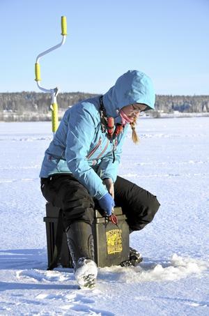 Matilda Lejon från Västerås har som tradition att delta i Norarycket ända sedan hon var barn.