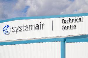 Systemairs nya teknikcenter tar plats i en redan befintlig byggnad som renoverats under flera månaders tid.