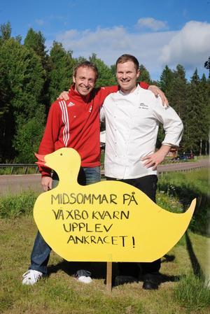 Ankracet i Växbo är bara början på det samarbete som Patrik Halvarsson och Per Johansson ser framför sig.