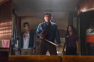 Bruce Campbell är tillbaka i rollen som Ash i tv-serien