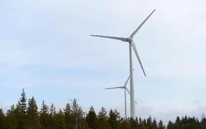 Nu ska kommunens säga sitt om EONs ansöka om att får bygga 15 vindkraftsnurror, 200 meter höga. Foto: FREDRIK SANDBERG / SCANPIX