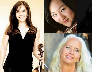 Hiyoli Tagawa samt återvändarna Byol Kang och Veronika Fuchs är några av musikerna i årets kammarmusikvecka.