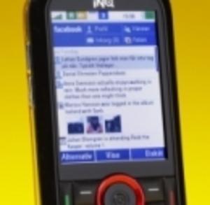 Inq Mini: Färgglad Facebook-mobil med Twitter