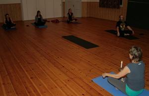 Det kommer även fortsättningsvis att ordnas yogatillfällen i Åboholm. BILD: BJÖRN PALMQVIST