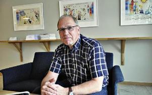 Kenneth Dahlström, ordförande för vård och omsorgsutskottet.FOTO: BOEL FERM