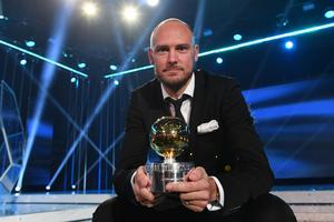 Andreas Granqvist var tacksam över prestigepriset.
