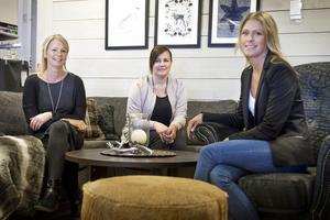Helene Svedberg; Sara Dahlberg; och Stina Eriksson tar över Permia.