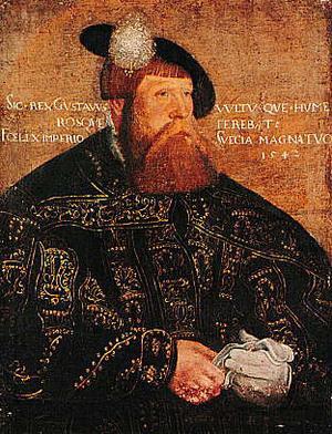 Gustav Vasa får igenom de avgörande reformationsbesluten i Västerås 1527 och 1544.