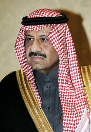 Länge sedan. Saudiarabiens biträdande försvarsminister prins Khled Bin Sultan var med när Sverige och Saudiarabien slöt samarbetsavtalet 2005.foto: scanpix