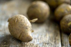 Potatisen kan se robust ut, men är ömtålig när det gäller förvaring.