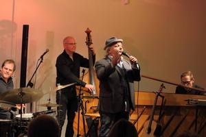 Peter Getz & Stockholm Jazz Trio. Tar hand om finalkonserten på Trettondagsjazzen i Gävle konserthus.