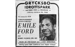 En 50 år gammal tidningsannons från den 24 juli 1963. Foto: Mikael Forslund